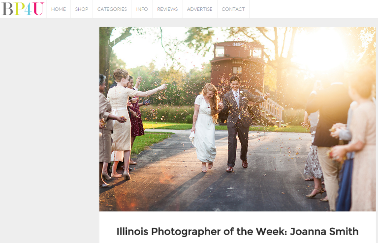 Featured Chicago Illinois Wedding Photographer