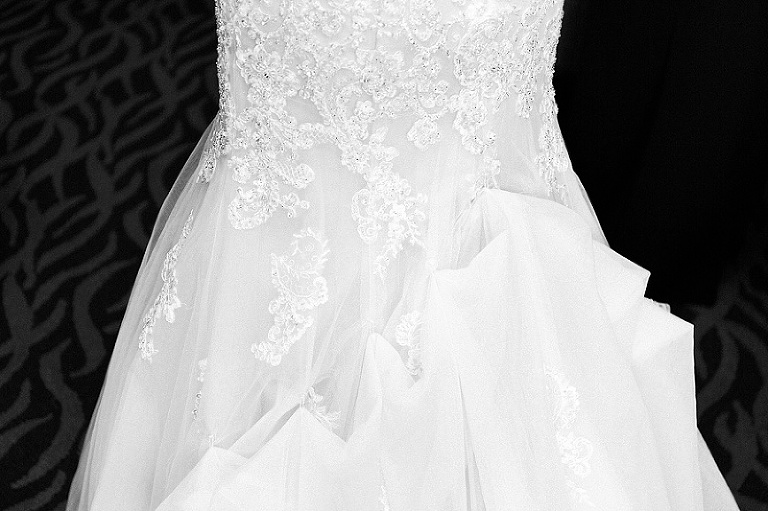 Monastero's, wedding dress detail, Chicago Wedding Photography, Gay friendly wedding photographer